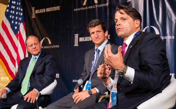 Panelists: Center for Financial Markets Senior Fellow Ed DeMarco, Clear Path Founder and CEO Jay Faison, and SkyBridge Captial Founder and Co-Managing Partner Anthony Scaramucci